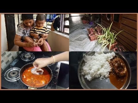 Saturday Lunch Preparation Vlog ll Quick and Easy Recipes ll Fish Curry Special