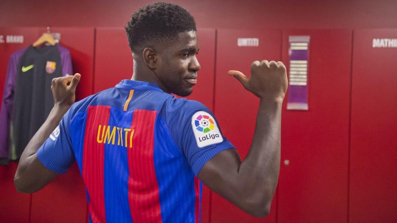 Resultado de imagen para samuel umtiti barcelona