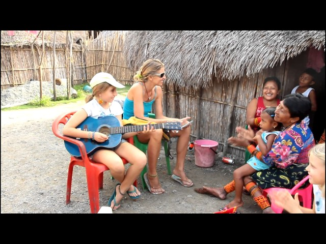 Concert chez les Kunas
