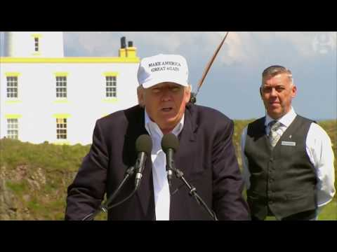 Donald Trump calls the Guardian