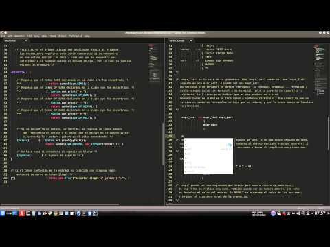 Analizador Lexico con JFlex en Java (NetBeans)из YouTube · Длительность: 14 мин8 с