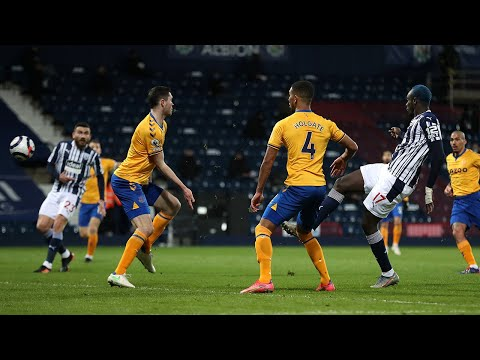 West Bromwich Albion v Everton highlights