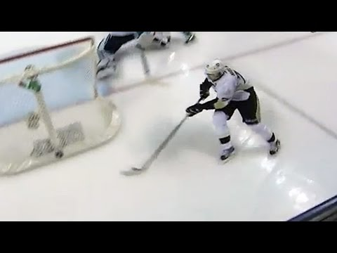 Malkin dances for a beautiful wraparound goal