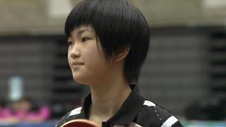 【全農杯 全日本卓球選手権大会 ホープス・カブ・バンビの部】ダイジェスト⑮