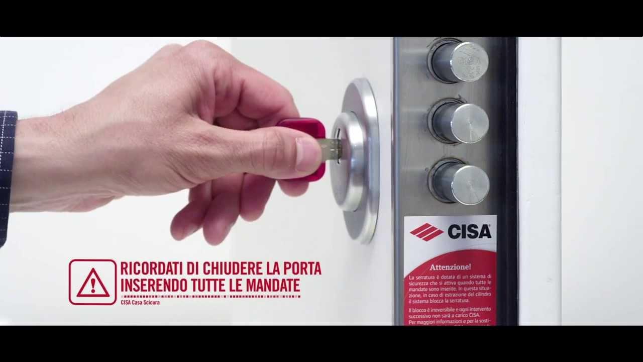 CISA Casa Sicura, soluzioni per la sicurezza della porta blindata ...