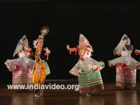 Ras Lila Manipuri dance India