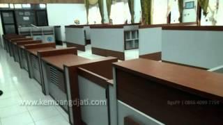 Meja Cs Customer Service | Front Desk Semarang | Custom Desain Furniture Kantor Semarang