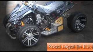 The New SpYdR 250cc Road Legal Quad Bike-Features Overview