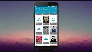 Music Lyrics Apps  For Android ios