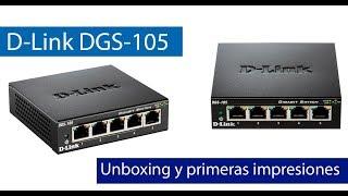 Conoce el switch Gigabit D-Link DGS-105 con IGMP Snooping