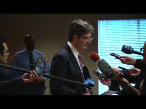 François Delattre (France) on Syria - Media Stakeout (26 October 2017)