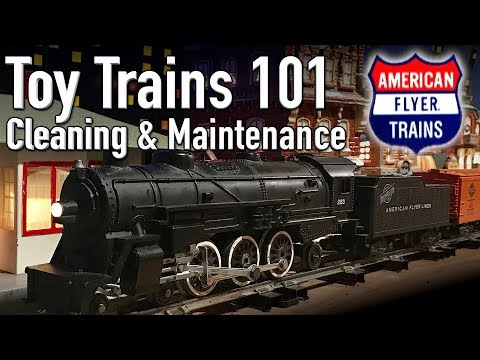 Toy Trains 101 Cleaning And Maintenance American Flyer Postwar