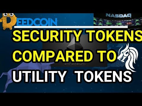 SECURITY TOKENS VS UTILITY TOKENS EXPLAINED (2018)   EPISODE 26