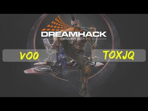 Vo0 vs toxjq | DreamHack Denver | Quake Championship | Group A