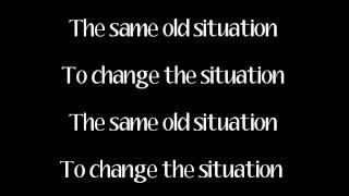 Same Old Situation (Chuck Criss) with lyrics