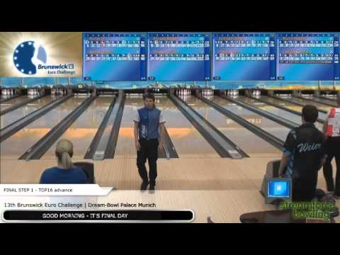 Brunswick Euro Challenge 2016 - Final Step 1 - Lane 11-14