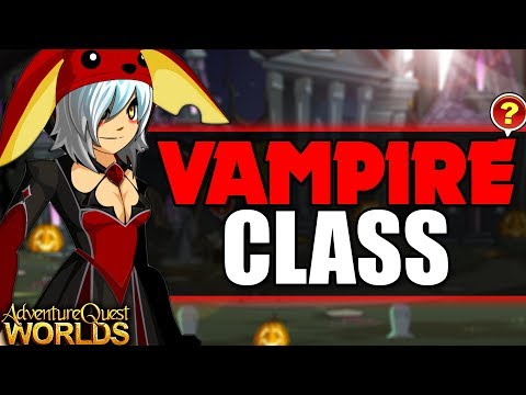 How to get Vampire Lord CLASS (NON MEMBER) AQW AdventureQuest Worlds
