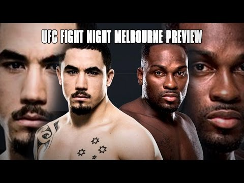 UFC Fight Night Melbourne: Robert Whittaker Vs. Derek Brunson - Fight Network Preview