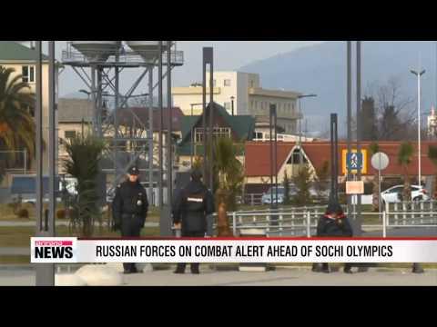 Russian forces on combat alert ahead of Sochi Olympics