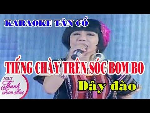 Karaoke Tân Cổ TIẾNG CHÀY TRÊN SÓC BOM BO - [Phong Cách THANH KIM HUỆ]