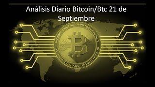 Análisis Diario Bitcoin-btc 21 de septiembre/¿Hasta donde subirá bitcoin?