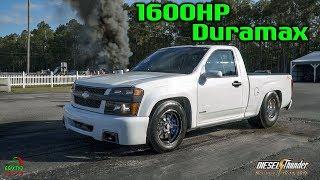 1600HP Duramax Powered Chevy Colorado Is A Beast! 4k