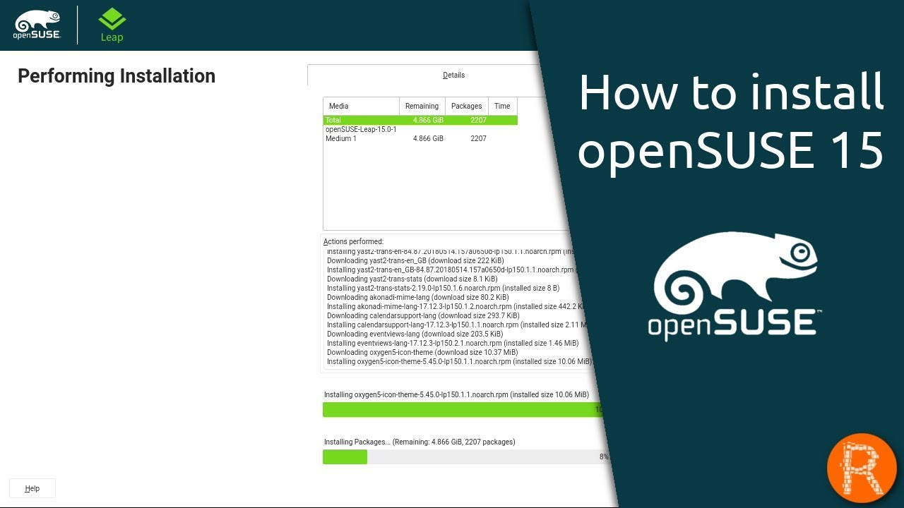 How to install openSUSE 15