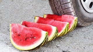 EXPERIMENT CAR vs WATERMELON
