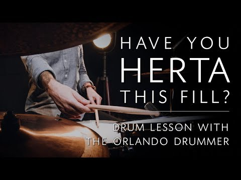 Have You Herta This Fill? | Drum Lesson w/ The Orlando Drummer