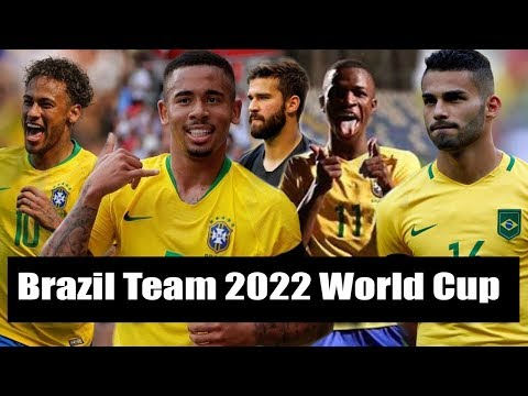 Brazil 2022 Qatar World Cup Team | Eight New Star Player By Sports Fact
