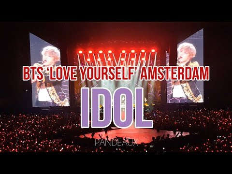 181013 BTS(방탄소년단) 'LOVE YOURSELF' IN AMSTERDAM - IDOL