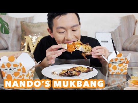 NANDO'S MUKBANG | PERi-PERi CHICKEN | Eating Show