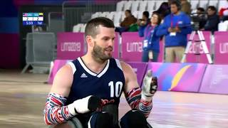 Wheelchair Rugby Semifinal (USA vs COL) | Parapan American Games Lima 2019
