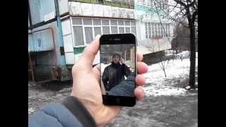 видео зеркальная пленка на iphone
