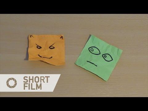 Mood Notes (2014) - Short Stop Motion Film
