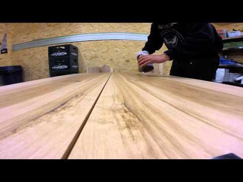 Plankebord i brun eg   slutfasen   youtube