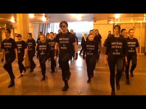 Dance FlashMob MICHAEL JACKSON is ALIVE 14 мая 2011 Москва