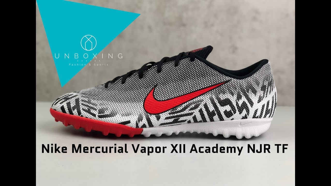 best sneakers 6bf42 70bb5 Nike Mercurial Vapor XII Academy NJR TF 'Silêncio Pack' | UNBOXING & ON  FEET | football boots | 2019