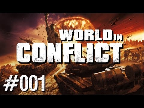 Let's Play World in Conflict #001 [Deutsch][HD+] - Intro+Mission 1