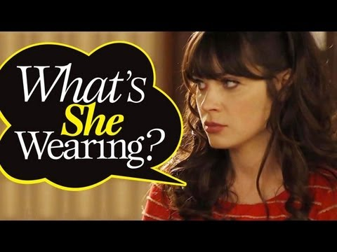 New Girl 02X02 Zooey Deschanel: The Fashion Details on Jess!
