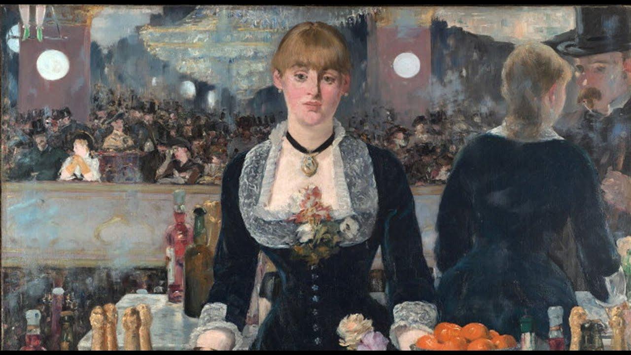 A Bar At The Folies Bergere Edouard Manet&#...