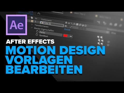 Arbeiten mit After Effects Templates: Wie Titel mehrfach, unabhängig duplizieren?