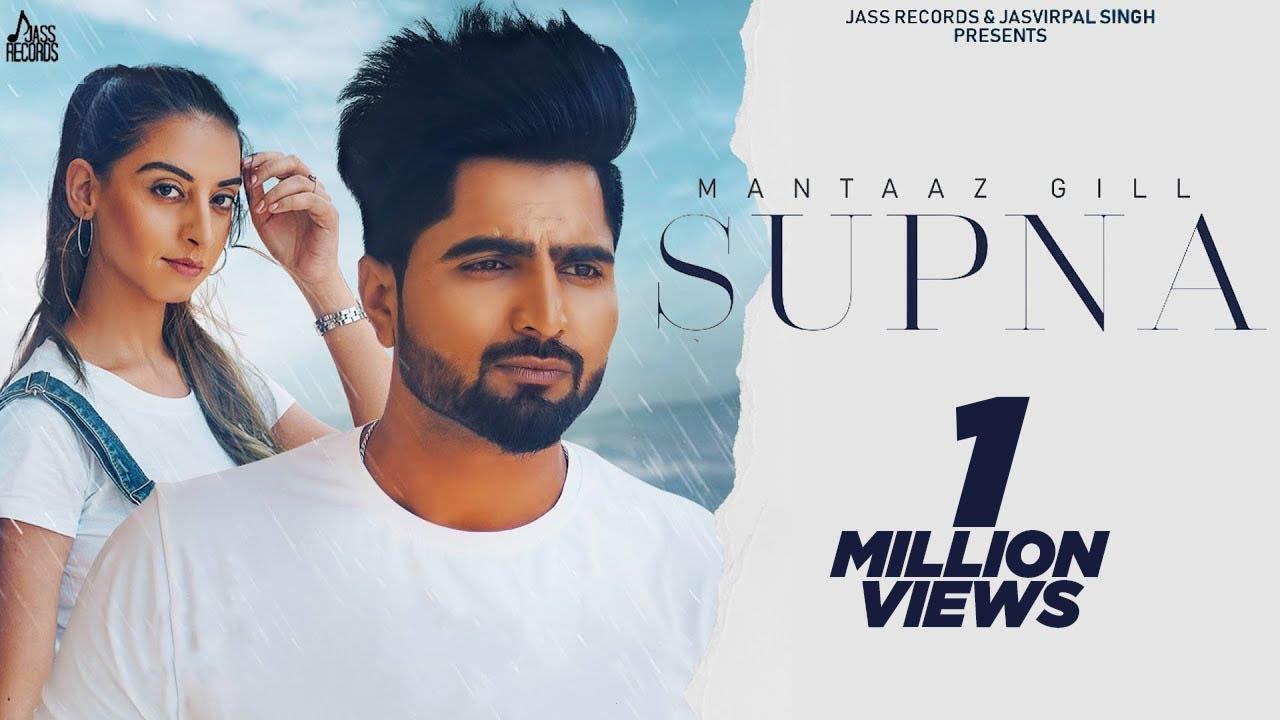Supna (Official Video) Mantaaz Gill | Ar Deep | Punjabi Song 2020 | Jass Records