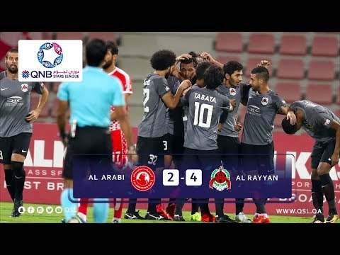 Al Arabi 2 - 4 Al Rayyan | Week 8