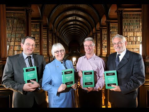 The launch of the Cambridge History of Ireland