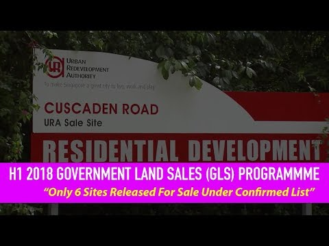 H1 2018 Government Land Sales (GLS) Programme