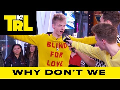 Why Don't We Talk 'Invitation' EP & Tour Stories | TRL Weekdays At 4pm