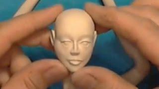 Мастер класс по изготовлению головы куклы