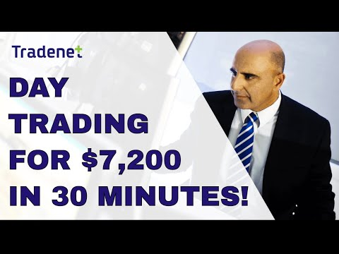 Live Stock Trading – $7,200 in Profits