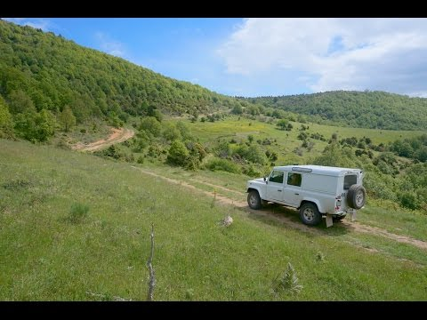 Grèce 4x4 Greece on the hidden tracks - Land Rover Defender 110